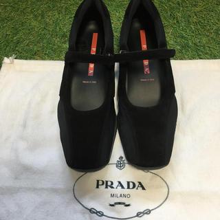 PRADA - PRADAレディーススニーカー37表記
