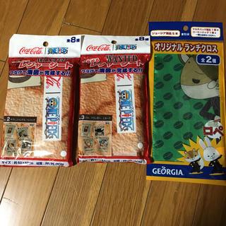 ワンピースレジャーシート&紙兎ロペのランチクロス(キャラクターグッズ)