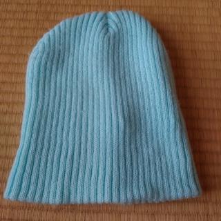 ジーユー(GU)の【美品】ニット帽(ニット帽/ビーニー)