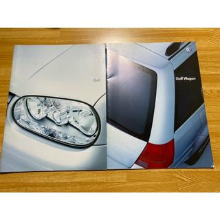 Volkswagen フォルクスワーゲン golf 、wogon 2冊セット