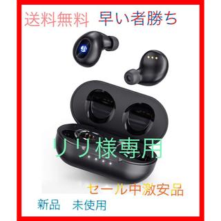 完全ワイヤレス イヤホン Bluetooth 5.0 iTeknic(ヘッドフォン/イヤフォン)