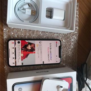 アイフォーン(iPhone)のiphone x 64 gb space gray(スマートフォン本体)