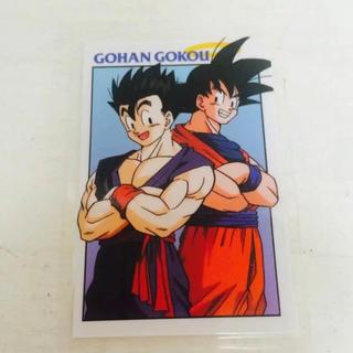 当時物 ドラゴンボールZの ラミネート カード(カード)