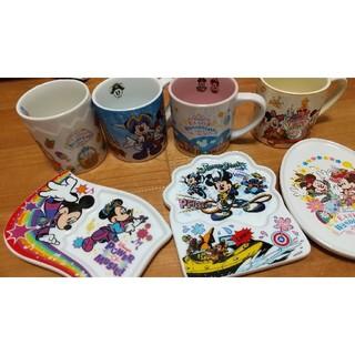 ディズニー(Disney)のディズニーリゾートスーベニアカップ&プレート(キャラクターグッズ)