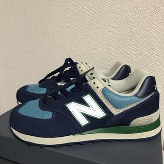 ニューバランス(New Balance)のニューバランス574  25.0(スニーカー)