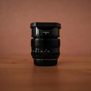 フジフイルム(富士フイルム)のFUJIFILM xf35mm f1.4 保護フィルター付き(レンズ(単焦点))