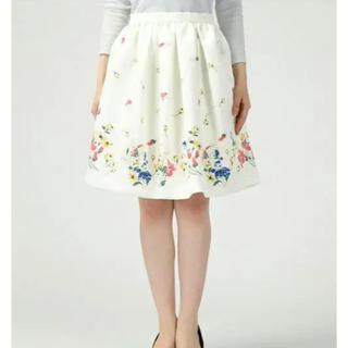 トランテアンソンドゥモード(31 Sons de mode)の31 花柄スカート (ひざ丈スカート)
