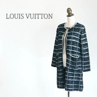 ルイヴィトン(LOUIS VUITTON)のLOUIS VUITTON ルイヴィトン  ニットカーディガン コート(カーディガン)