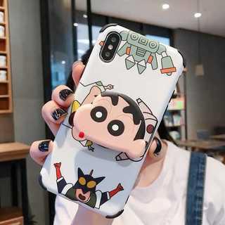 可愛い??クレヨン しんちゃん iPhone ケース 最新機種?(iPhoneケース)