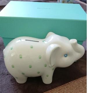 ティファニー(Tiffany & Co.)のティファニー 貯金箱 像(置物)