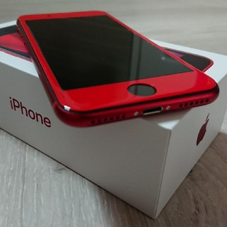 iPhoneSE2  RED 64GB SIMフリー(スマートフォン本体)