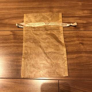 エンポリオアルマーニ(Emporio Armani)の☆非売品☆エンポリオアルマーニ ランジェリーポーチ(ショップ袋)