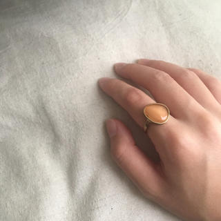 TODAYFUL - 新品未使用!オレンジストーンリング ゴールドリング