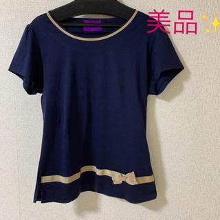 アマカ(AMACA)の美品✨アマカ  Tシャツ カットソー トップス(Tシャツ(半袖/袖なし))