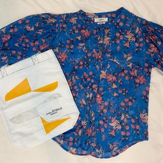 イザベルマラン(Isabel Marant)のIsabel Marant Etoile 花柄ブラウス トートバッグ(シャツ/ブラウス(長袖/七分))