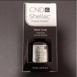 シーエヌディー(CND)のCND シーエヌディー シェラック UVベースコート 7.3ml(その他)