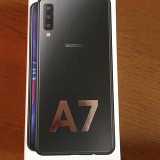 ギャラクシー(Galaxy)のGalaxy A7 楽天モバイル対応 simフリー ブラック(スマートフォン本体)
