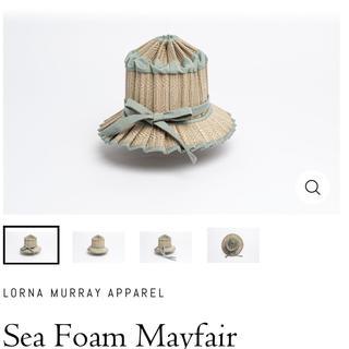 ロンハーマン(Ron Herman)のLORNA MURRAY APPAREL Sea Foam Mayfair(麦わら帽子/ストローハット)
