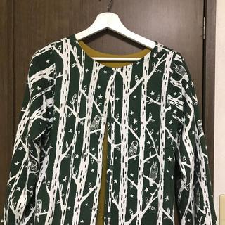 グラニフ(Design Tshirts Store graniph)のリバーシブル グラニフ ワンピカーティガン(カーディガン)