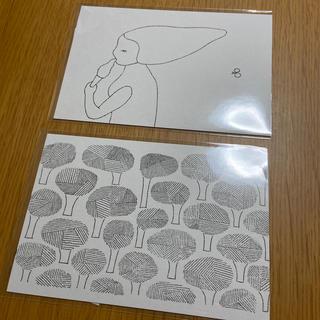 ミナペルホネン(mina perhonen)のミナ ポストカード つづく展 (写真/ポストカード)