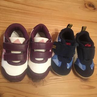 アディダス(adidas)の子ども靴⭐️アディダス14センチ、アシックス13センチ(スニーカー)