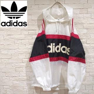 アディダス(adidas)のアディダス adidas ナイロンパーカー ナイロンジャケット 大きめサイズ(ナイロンジャケット)