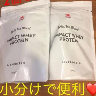 MYPROTEIN - 週ゆりさん専用です。■マイプロテイン /インパクトプロテイン ミルクティー味