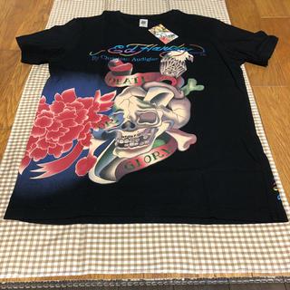 エドハーディー(Ed Hardy)の超希少 エド ハーディー Ed Hardy Tシャツ ブラック Lサイズ 未使用(Tシャツ/カットソー(半袖/袖なし))