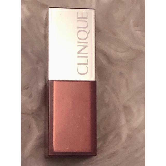 CLINIQUE(クリニーク)の07 CLINIQUEポップシアーメロンドロップポップリップカラー未使用     コスメ/美容のベースメイク/化粧品(口紅)の商品写真