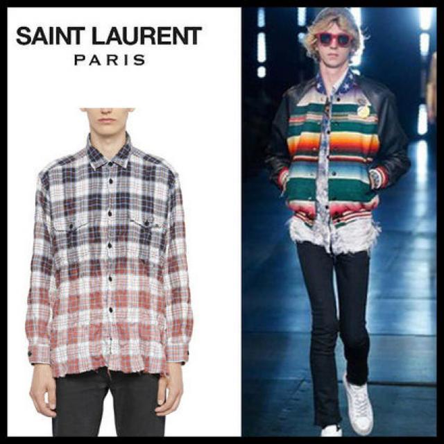 Saint Laurent(サンローラン)のサンローラン シャツ メンズのトップス(シャツ)の商品写真