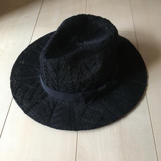 ハット 帽子 ストローハット(麦わら帽子/ストローハット)
