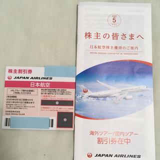 ジャル(ニホンコウクウ)(JAL(日本航空))のJAL 日本航空株酒優待券(航空券)