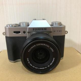 フジフイルム(富士フイルム)のFUJIFILM X-T10とXC15-45mmレンズセット 美品(ミラーレス一眼)