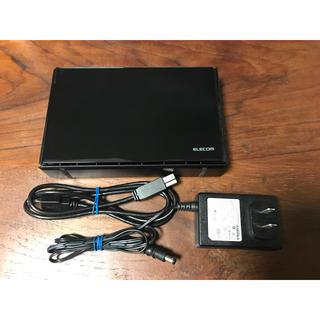 エレコム(ELECOM)のSeeQVault対応ハードディスク 3TB USB3.1(PC周辺機器)