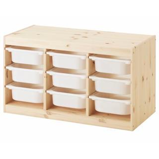 イケア(IKEA)のおもちゃ収納 じゅんさま(収納/チェスト)
