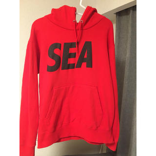SEA - wind and sea  定番ロゴパーカー ウィンダンシー  wds