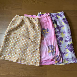 スカート❤︎セット売り(ひざ丈スカート)