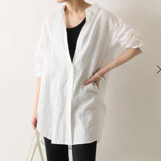 FRAMeWORK - FRAMe WORK  フレンチリネン 2WAYシャツ ホワイト