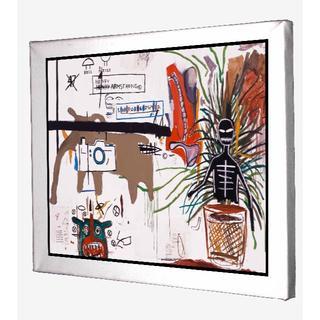70-ジャン=ミシェル・バスキア Basquiat キャンバスアート 模写(ボードキャンバス)
