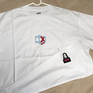 X-girl - 新品タグ付き Tシャツ