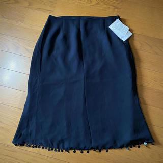 スパンコールスカート(ひざ丈スカート)