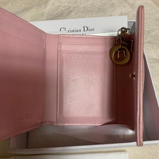 """ディオール(Dior)のラムスキン """"LADY DIOR"""" ウォレット dior 財布(財布)"""