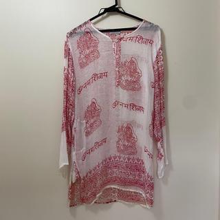 titicaca - クルタ2 インド民族衣装 吉祥寺仲屋むげん堂で購入 サラっとしたガーゼ素材