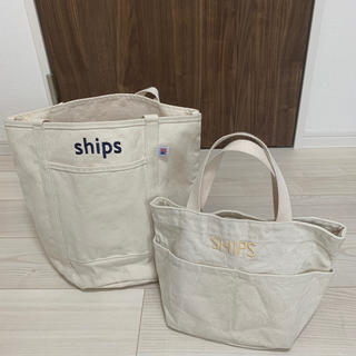 SHIPS - SHIPS キャンバストートバッグ