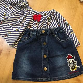 ディズニー(Disney)のミニーちゃん スカート 2枚(スカート)