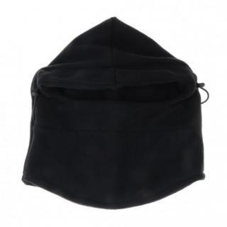 【寒さ対策】多機能 防寒 フェイスマスク ユニセックス ブラック  男女兼用(ネックウォーマー)