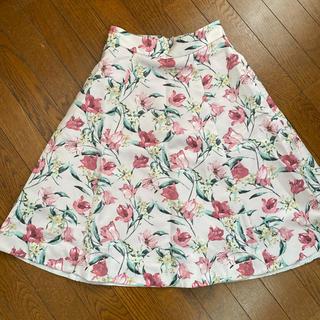 アプワイザーリッシェ(Apuweiser-riche)のアプワイザー♡オータムチューリップ スカート  (ひざ丈スカート)