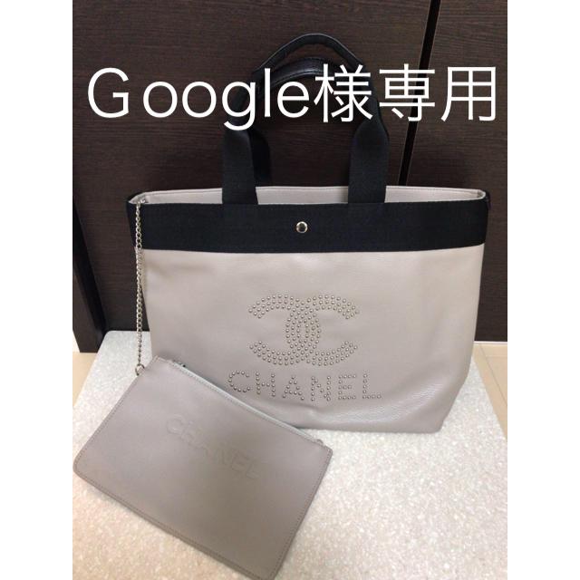 CHANEL(シャネル)のシャネルノベルティトートバッグ エンタメ/ホビーのコレクション(ノベルティグッズ)の商品写真