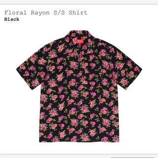 Supreme - supreme Floral Rayon S/S Shirt Lサイズ
