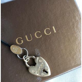グッチ(Gucci)のGUCCI 携帯ストラップ(ストラップ/イヤホンジャック)
